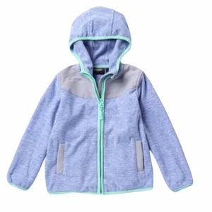 Weatherproof Hooded Full Zip Coat Periwinkle 3T
